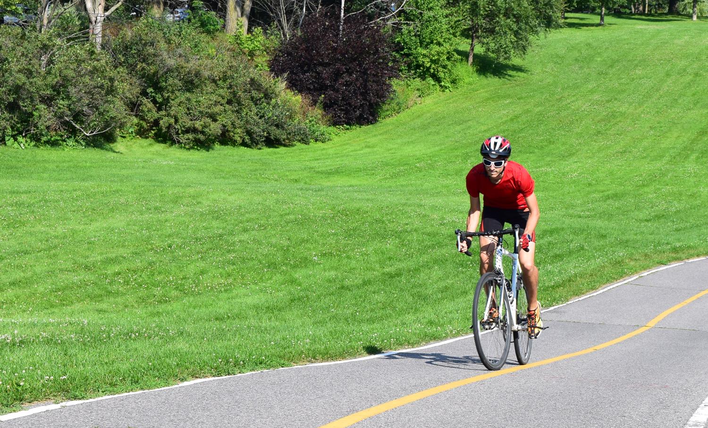 Quand j'ai démarré le vélo, sans prétention