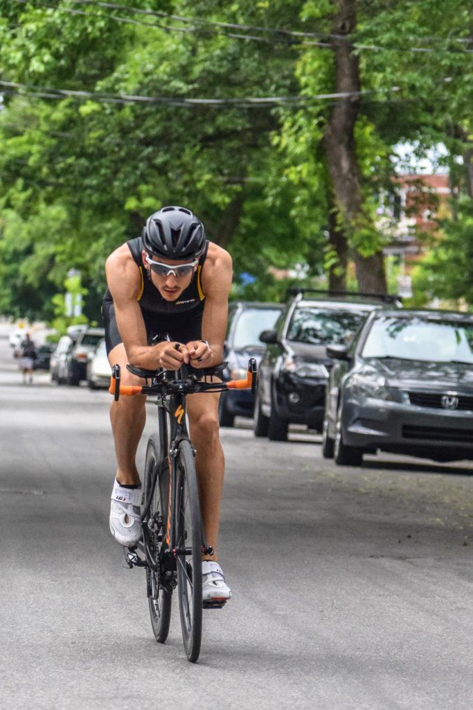 Position aérodynamique en triathlon : quel gains ?