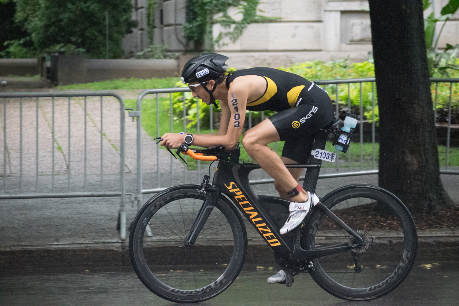 le triathlon c'est plus qu'un swim bike run